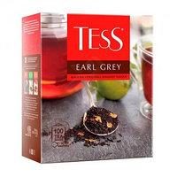 Чёрный чай Tess Earl Grey, 100 пакетиков
