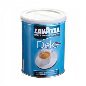 Кофе молотый Lavazza Dek, ж/б, 250 гр.