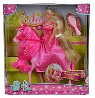 Кукла Штеффи супер длинные волосы и лошадка 29 см Simba