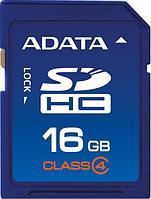 Карта памяти A-DATA SD/16Gb ASDH16GCL4-R (Art:904304876)