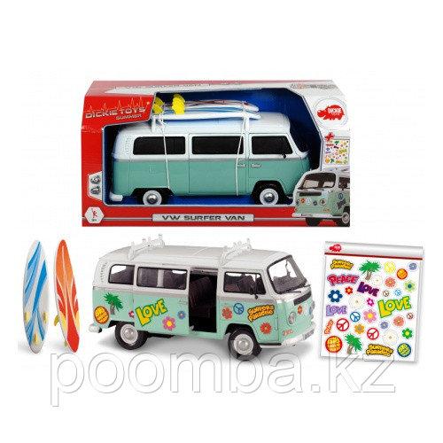 Машинка для серферов и наклейки фрикционная  32 см Dickie Toys