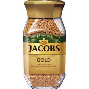 Кофе растворимый Jacobs Gold, 95 гр