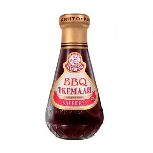 Соус фруктовый Ткемали барбекю Кинто, 305 гр