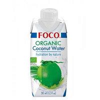Кокосовая вода Foco, органик, 330 мл