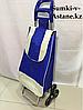 Хозяйственная сумка-тележка для продуктов,шагающая .Высота 95 см, ширина 35 см, глубина 25 см.