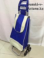 Хозяйственная сумка-тележка для продуктов,шагающая .Высота 95 см, ширина 35 см, глубина 25 см., фото 1
