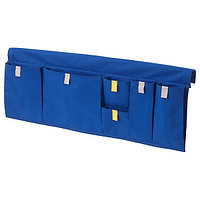 Карман д/кровати МЁЙЛИГХЕТ синий, 75x27 см ИКЕА, IKEA, фото 1