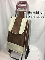 Хозяйственная сумка-тележка для продуктов,шагающая.Высота 95 см,ширина 35 см, глубина 25 см., фото 1