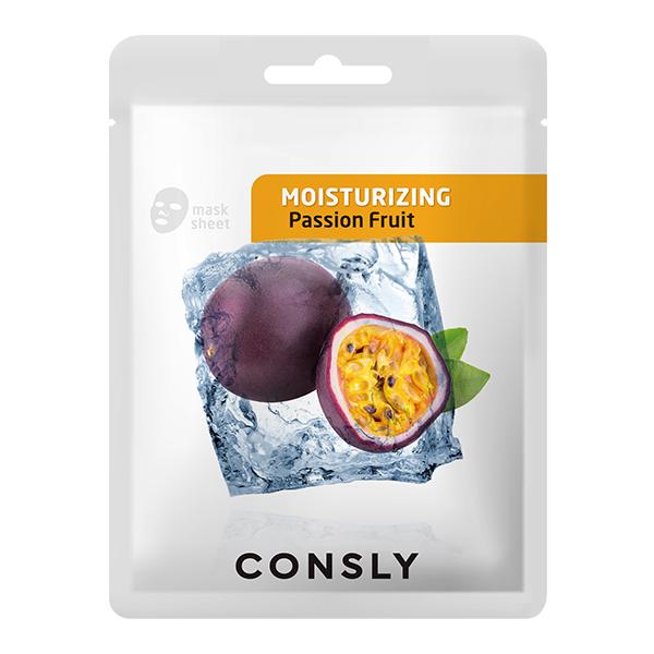 CONSLY Тканевая Маска Увлажнение Mask Pack Passion Fruit Moisturizing