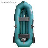 Лодка «Мурена» 260У НД надувное дно, цвет олива