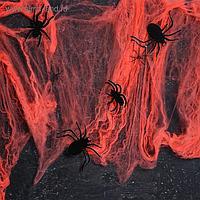 Карнавальный набор «Паучки» паутина, фигурки пауки