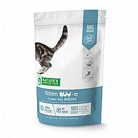 Сухой корм для котят до 1 года Nature's Protection Kitten Poultry with Krill мясо птицы с крилем