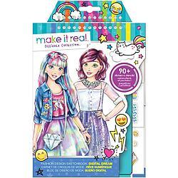 Make It Real Скэтчбук Модный дизайн: Цифровая мечта