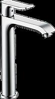 Hansgrohe Metris Смеситель для раковины 200, однорычажный, со сливным гарнитуром (31183000)