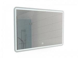 Зеркало Dream 100 alum с подсветкой Sansa, фото 2