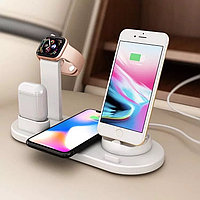 Смарт телефон безпроводное зарядное устройство 5 в 1