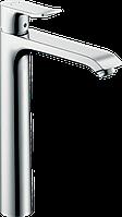 Hansgrohe Metris Смеситель для раковины в форме таза 260, однорычажный, со сливным гарнитуром (31082000)