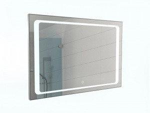 Зеркало Galaxy 100 alum с подсветкой Sansa, фото 2