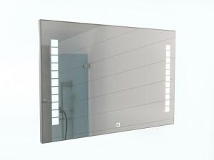 Зеркало Quadro 100 alum с подсветкой Sansa