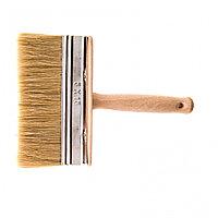 Кисть-ракля, 50 х 150 мм, натуральная щетина, деревянный корпус, деревянная ручка Россия, фото 1