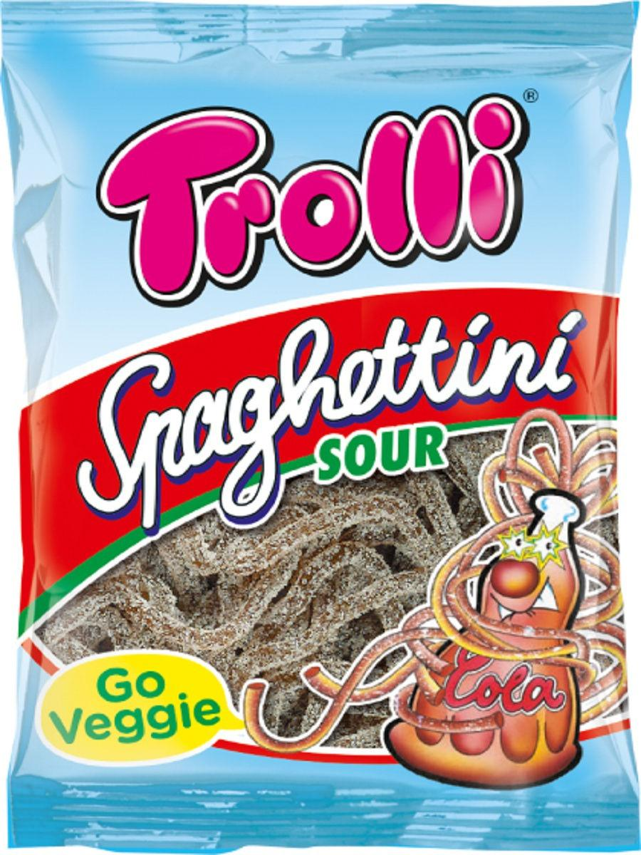 Жев. мармелад Trolli Спагетти в сахаре Кола Cola 100 гр.