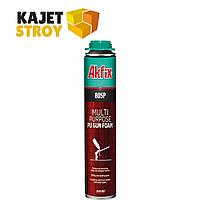 Многоцелевая полиуретановая профессиональная монтажная пена. 45Л 750МЛ 805P AKFIX *