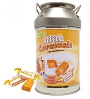 Молочные конфеты Коровка Woogie Milk caramels 250гр (Ведерко-копилка)