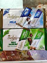 Шоколадный батончик Belgian 15 гр, (12 шт в упаковке) (Milk, Hazelnuts)