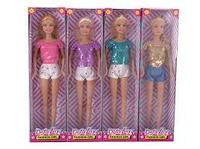 8443 Defa Lucy Кукла Lucy (29см) в шортах, в асс. 4 вида
