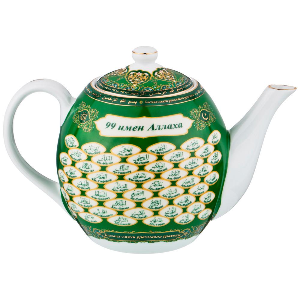 """Заварочный чайник Lefard """"99 имён Аллаха"""", 1600 мл."""