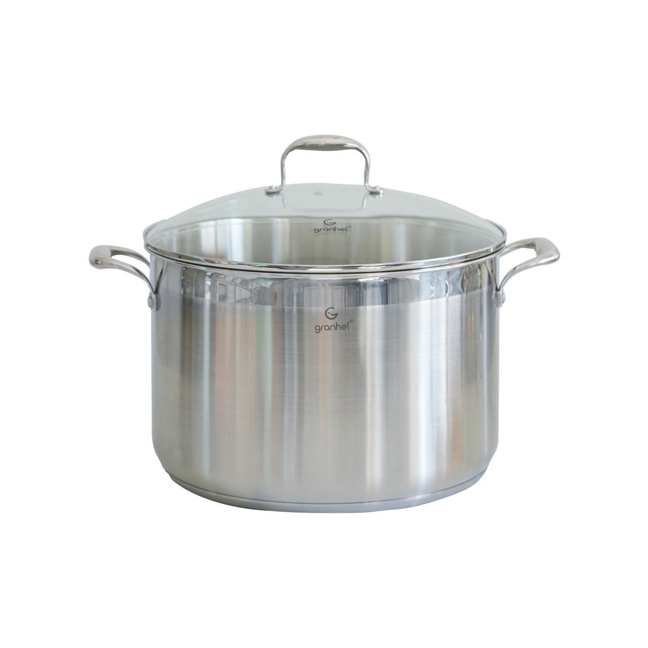 Кастрюля granhel Stainless steel 18/10 34х22,0 см 19,0 л