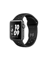 Apple Watch Nike Series 3 42mm Space Gray Aluminum Case with Nike Sport Band