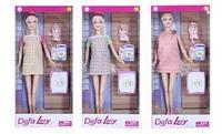 8357 Defa Lucy Кукла Lucy (29см) беременная с ребенком и аксесс