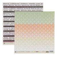 Бумага для скрапбукинга 'Школьная пора' 30,5х30,5 см, 190 гр/м2 (комплект из 10 шт.)