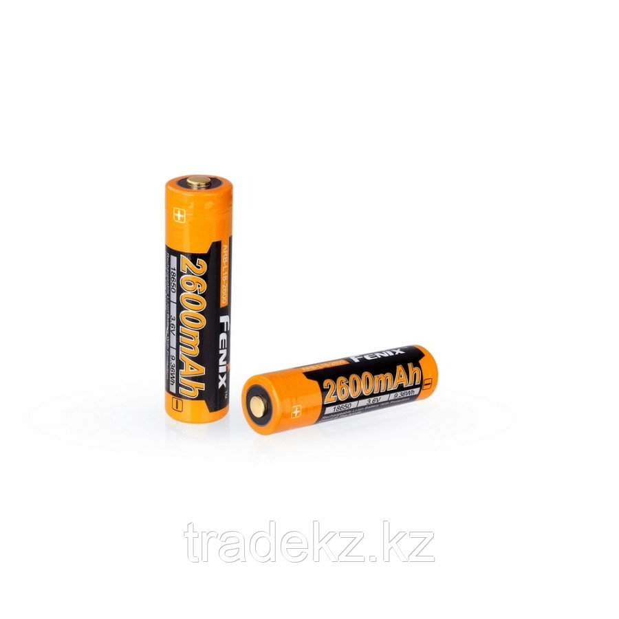 Аккумулятор для фонарей FENIX ARB-L18-2600, 18650, Li-ion, 3.6V, 2600mAh