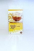 Зеленый чай с лимоном, Gaia, 25  пакетиков, Lemon Green Tea