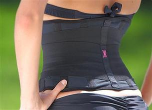 Пояс-корсет утягивающий Miss Belt (Мисс Белт), цвет черный, размер S/M, фото 2