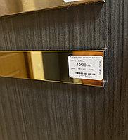 12*30, зеркальное золото - Профиль для декорирования мебели, 305 см, П-образный