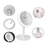 Зеркало с увеличением, подсветкой и вентилятором Beauty Breeze Mirror, фото 2