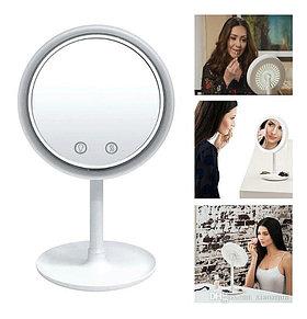 Зеркало с увеличением, подсветкой и вентилятором Beauty Breeze Mirror