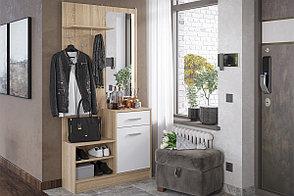 Шкаф прихожая пристенный 1Д Дебора, Дуб Сонома, Стендмебель (Россия), фото 2