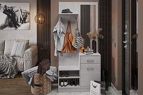 Шкаф прихожая пристенный 1Д Дебора, Анкор Анкор светлый, Стендмебель (Россия), фото 2