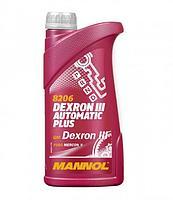 Трансмиссионное масло для АКПП MANNOL ATF Dexron DIII 1L