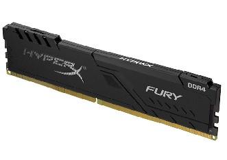 Модуль памяти Kingston HyperX Fury DDR4 8GB DIMM (HX432C16FB3/8) Чёрный