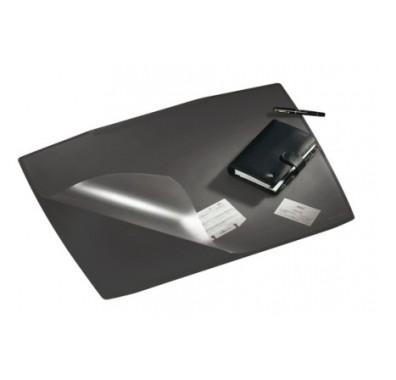 Покрытие настольное 65х52см, черное, с прозр.верхом Durable