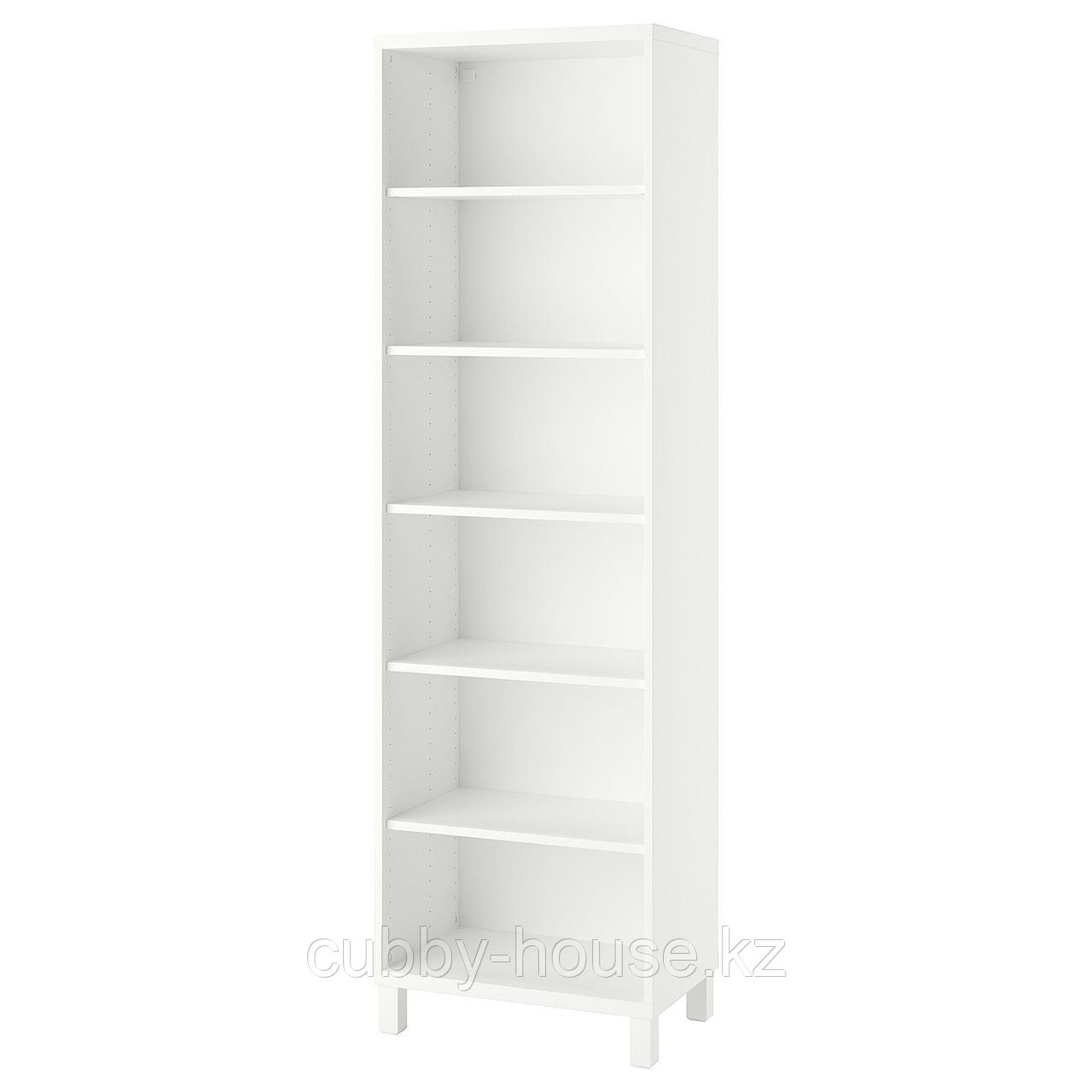 БЕСТО Шкаф, белый, 60x40x202 см