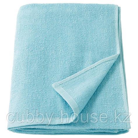 КОРНАН Простыня банная, голубой, 100x150 см, фото 2