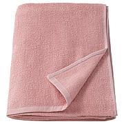 КОРНАН Простыня банная, розовый, 100x150 см