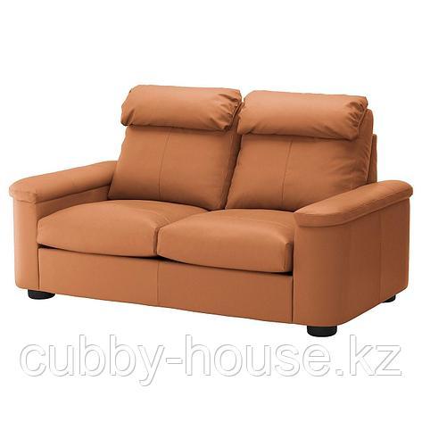 ЛИДГУЛЬТ 2-местный диван, Гранн/Бумстад золотисто-коричневый, фото 2