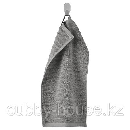 ФЛОДАРЕН Полотенце, серый, 30x50 см, фото 2